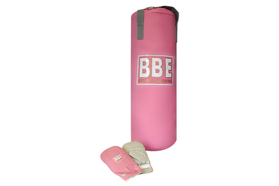 BBE Pink Punch Bag & Mitts