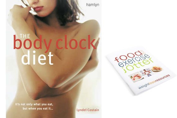 The Body Clock Diet & Jotter