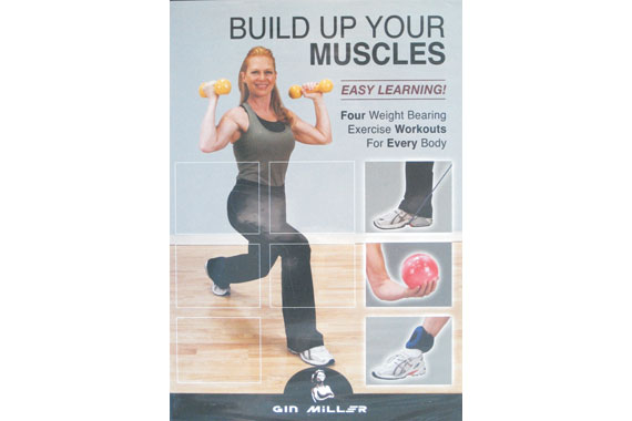 Build Up Your Muscles DVD by Gin Miller