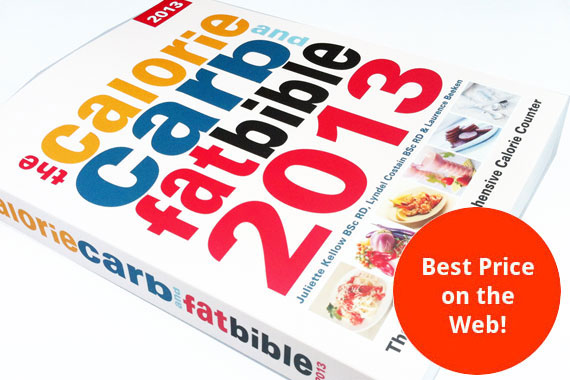 The Calorie, Carb & Fat Bible 2013