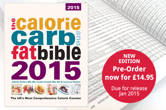 Calorie, Carb and Fat Bible 2015