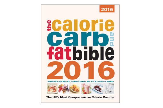 Calorie, Carb and Fat Bible 2016 Thumbnail
