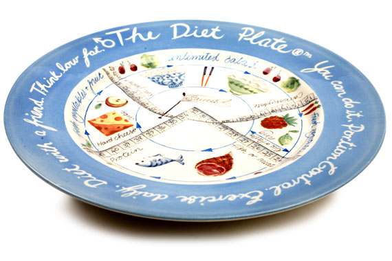 Portion Control Diet Plate - Male