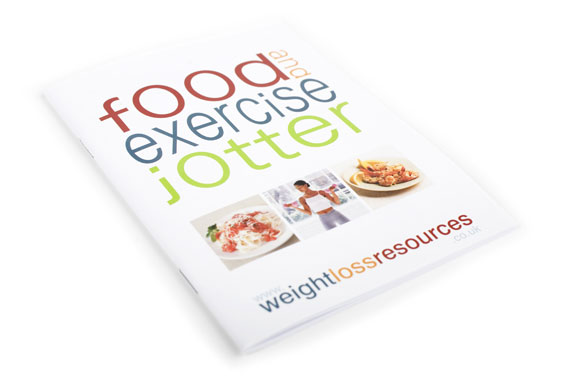 WLR Food & Exercise Jotters - 3 Pack