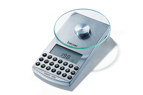 Dietary computer weighing scales.