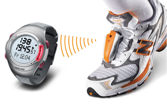 Speedbox Running Pedometer and PM70 Heart Rate Monitor