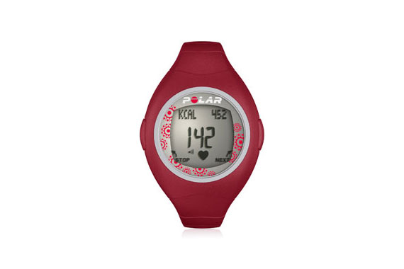 Polar F4 Heart Rate Monitor Red Berry