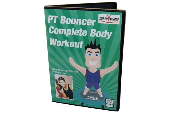PT Bouncer Rebounder DVD - Complete Body Workout DVD