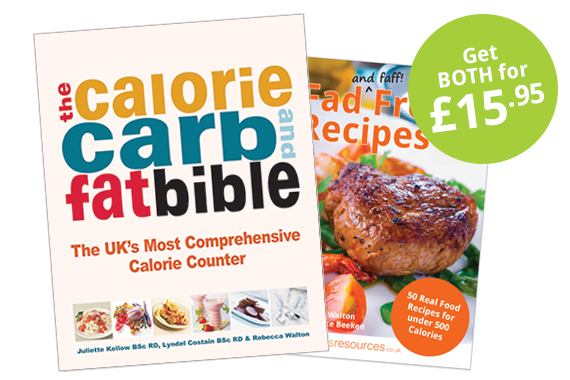 Fad Free Recipes & Calorie Bible Bundle