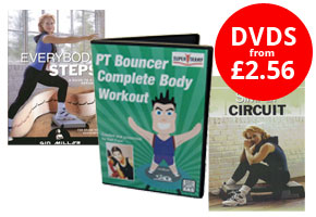 Exercise DVDs from £3.71