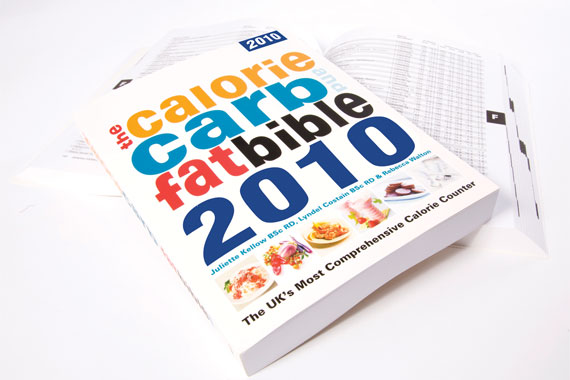The Calorie, Carb and Fat Bible 2010