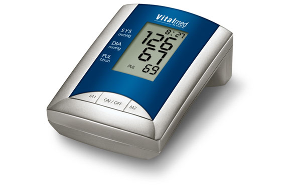 Arm Blood Pressure Monitor with Pulse Rate Measurement