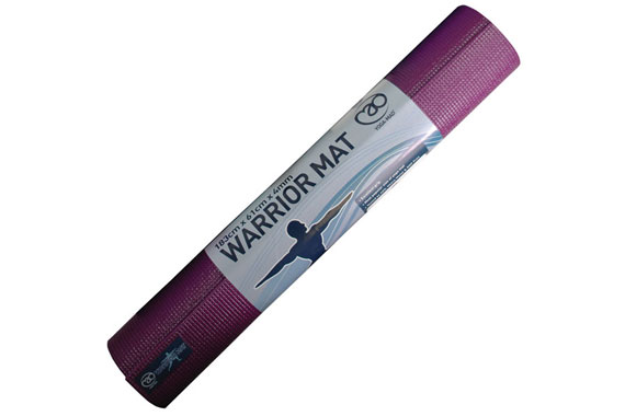 Warrior Yoga Exercise Mat, Aubergine