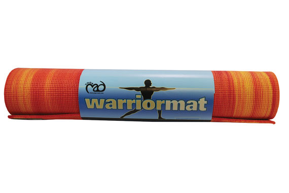 Warrior Exercise Mat Fire