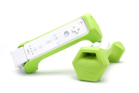 Dumbbells for Nintendo Wii - Riiflex