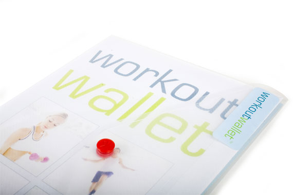 Workout Wallet Exercise Log 6 month pack
